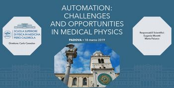 """Corso AIFM """"Automation: challenges and opportunities in medical physics"""""""