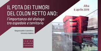 IL PDTA DEI TUMORI DEL COLON RETTO ANO: l'importanza del dialogo tra ospedale e territorio