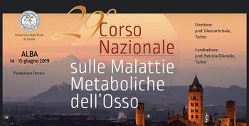 29° CORSO NAZIONALE SULLE MALATTIE METABOLICHE DELL'OSSO