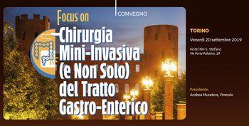 Focus on CHIRURGIA MINI-INVASIVA (E NON SOLO) DEL TRATTO GASTRO-ENTERICO
