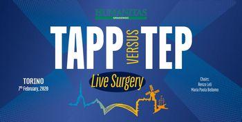 TAPP VERSUS TEP - LIVE SURGERY