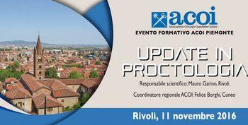 """Evento formativo ACOI """"Update in proctologia"""""""