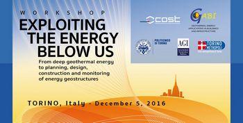 Workshop – Exploiting the energy below us