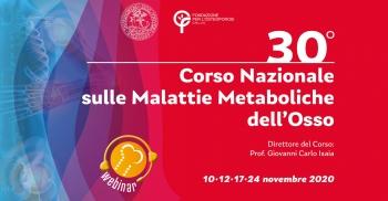 30° Corso Nazionale Malattie Metaboliche dell'Osso
