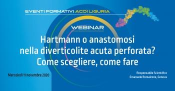 Hartmann o Anastomosi nella diverticolite acuta perforata? Come scegliere, come fare