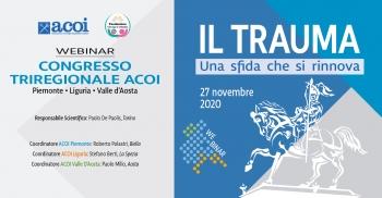 Triregionale ACOI Liguria, Piemonte, Valle d'Aosta. Il Trauma: una sfida che si rinnova