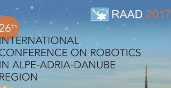 26th International Conference on Robotics in Alpe-Adria-Danube Region RAAD 2017