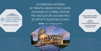 Corso AIFM  Dosimetria interna in terapia medico nucleare: evidenze di correlazione tra indicatori dosimetrici ed effetti radiobiologici