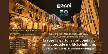 Congresso Interregionale ACOI Liguria, Piemonte, Valle d'Aosta. La sepsi a partenza addominale: un approccio multidisciplinare.