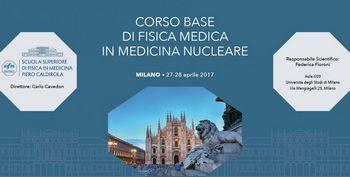 CORSO BASE DI FISICA MEDICA IN MEDICINA NUCLEARE
