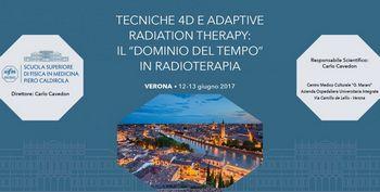 """TECNICHE 4D E ADAPTIVE RADIATION THERAPY: IL """"DOMINIO DEL TEMPO"""" IN RADIOTERAPIA"""