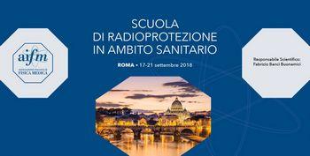 SCUOLA AIFM DI RADIOPROTEZIONE IN AMBITO SANITARIO