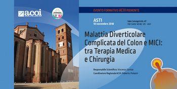 MALATTIA DIVERTICOLARE COMPLICATA DEL COLON E MICI : TRA TERAPIA MEDICA E CHIRURGIA